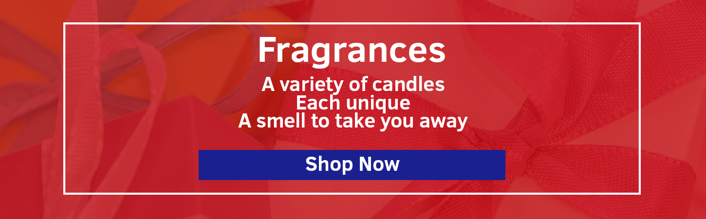 Fragrances Banner: Links to Fragrances Category